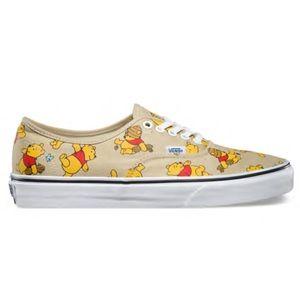 Vans Disney Winnie The Pooh RARE canvas shoes 9.5